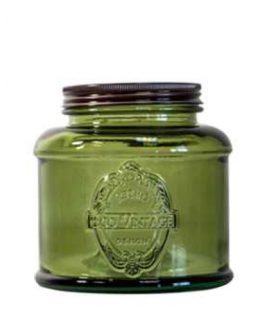 Jar Vintage 80cl green