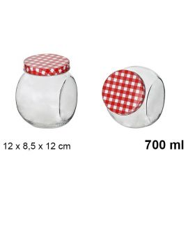 Jar Glass 700ml