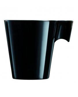 Taza 8cl negro