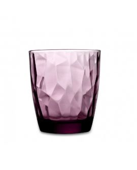 Vaso Diamond 30cl Granate