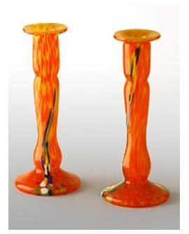 Chandelier Orange