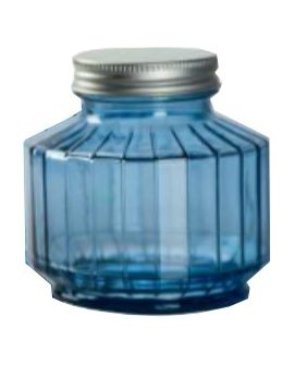 Jar Strepe 300cc T/blue Metal