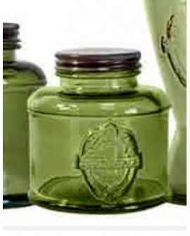 Jar Vintage 25cl green