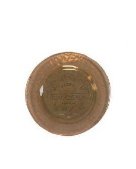 Plato Vintage 20cm marron