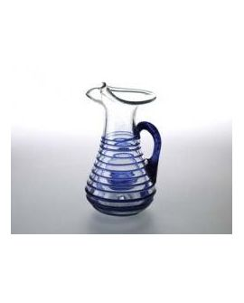 Pitcher Blue and White