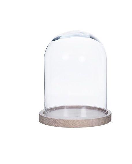 Campana cristal 25cm