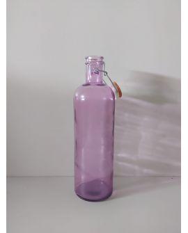 Botella Agua Cristal color Rosa 1,5L