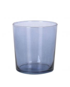 Vaso Cristal Pinta Sidra 345ml Azul