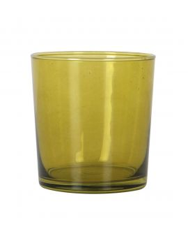 Vaso Cristal Pinta Sidra 345ml Verde