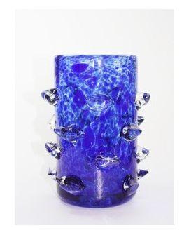 Vase Blue Tips