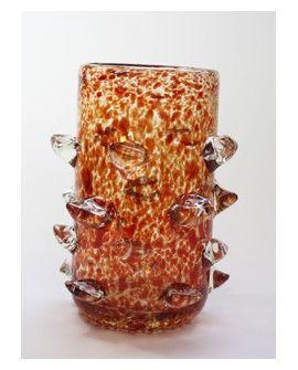 Vase Red Tips