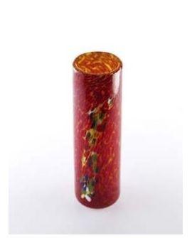 Vase Red Cylinder