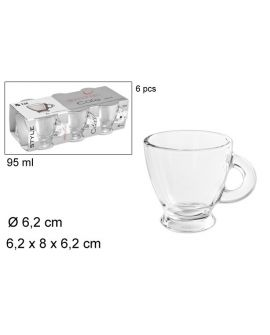 Vaso Cafe Cristal 9.5cl