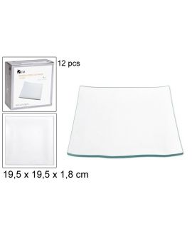 Square tray 19cm
