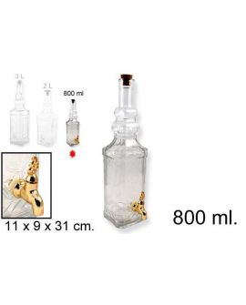Bottle Square 800ml