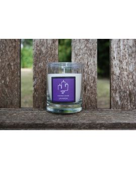 Candle scented Lavender 30 cl.