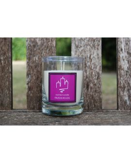 Candle scented Red Fruits, 30 cl.
