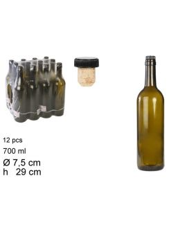 Bottle for Wine 700 ml T/Cork