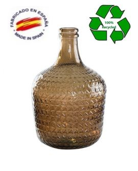 Carafe 4L Embossed Tobacco