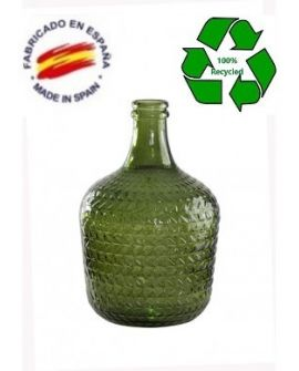 Carafe 12L embossed green