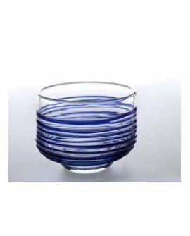 Bowl Blue Lines