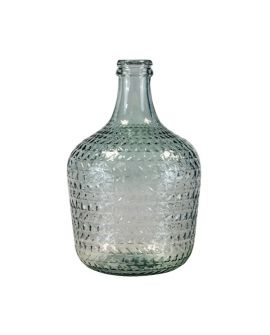 Carafe 12L embossed transparent