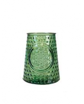 JARRON MANDALA 13.5 CM GREEN