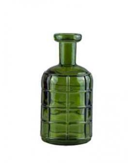 Florero Grafic 19cm verde oliva