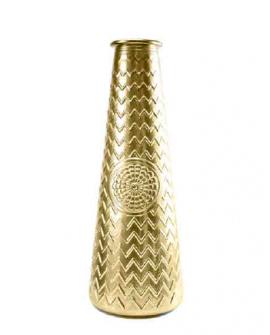 Jarron Mandala 55.5cm dorado
