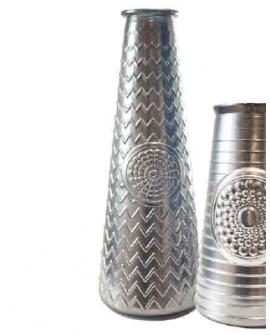 Jarron Mandala 55.5 cm silver