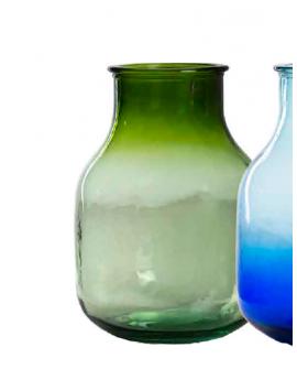 Garrafa Boca Ancha 11,5L verde degradado