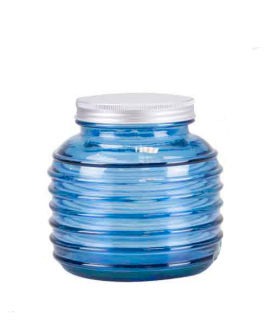Tarro Calipso 0.93L azul