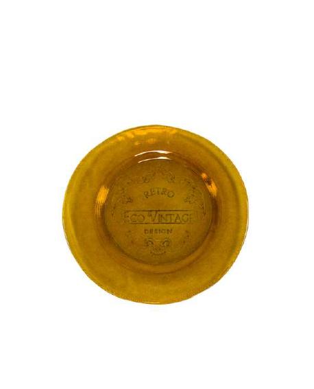 Plato Vintage 20cm naranja