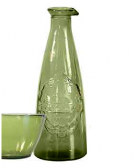 Decanter 1L Ecovintage green