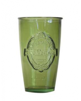 Glass Ecovintage 350cl green